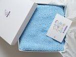 Stricken Sie Baby Decke Taufe Geschenk Neugeborenen Foto Stütze Dusche enthüll...