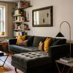 Sven Shadow Gray Right Sectional Sofa