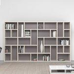 Swedish spacious library bookcase by Mobilstella - pickndecor.com/design