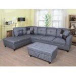 Swynford Sectional with Ottoman