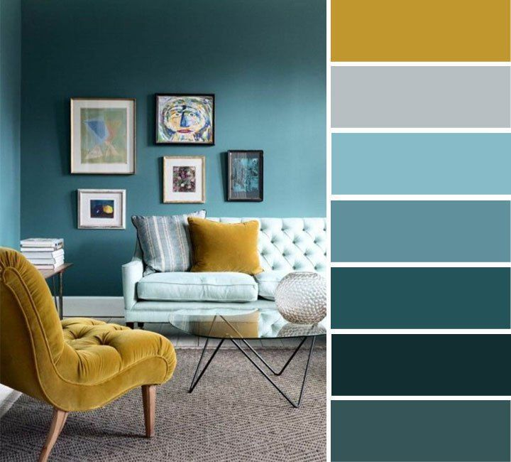 Teal and mustard sitting room | home color ideas , Teal and mustard ,color inspiration – Desing | desing.dessertpin.com