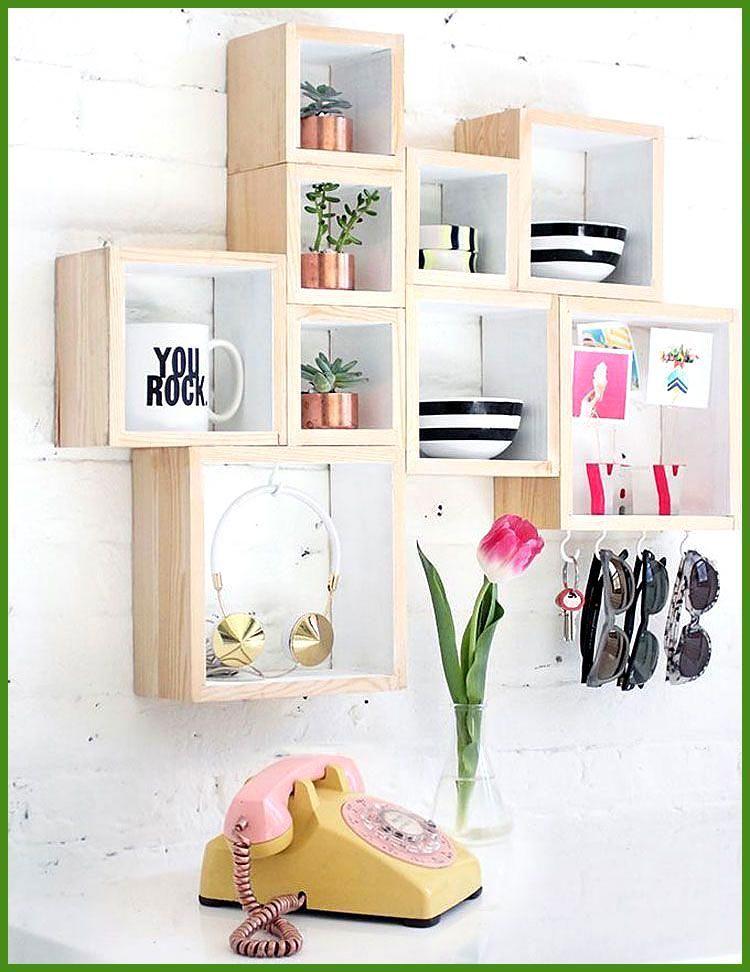 Teenage Bedroom Furniture for Small Rooms with Creative Shelves  Cute Teenage Gi…