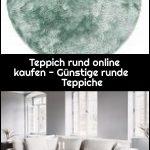 Teppich rund online kaufen - Günstige runde Teppiche,  #Günstige #kaufen #online #rund #Runde...