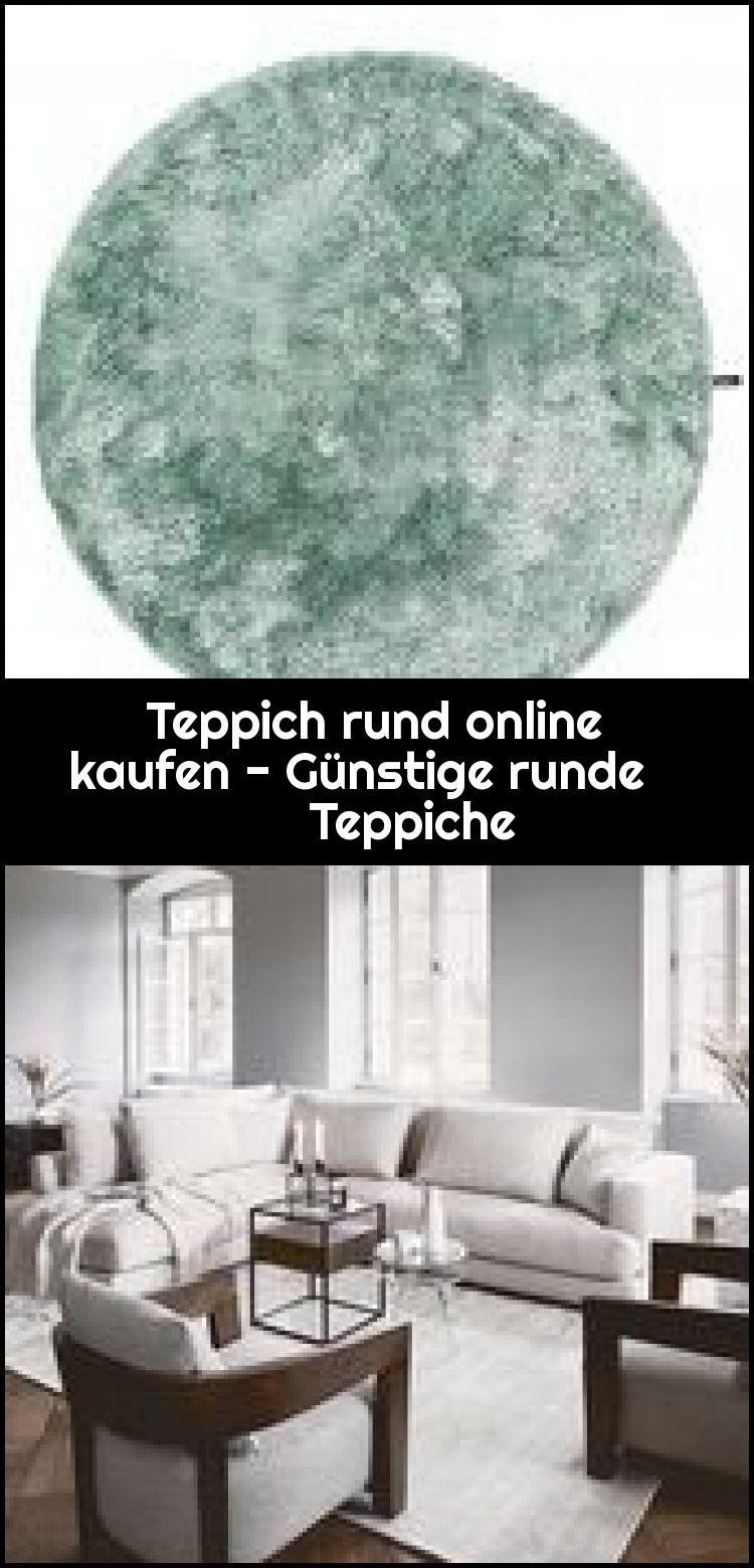 Teppich rund online kaufen – Günstige runde Teppiche,  #Günstige #kaufen #online #rund #Runde…