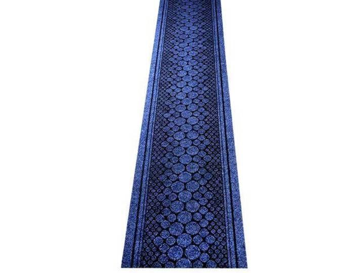 Teppichläufer Stone in Blau