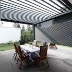Terrassendach Skye® Die drehbaren Dachlamellen beim Terrassendach Skye® könne...