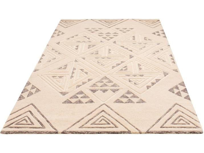 Theko Exklusiv Teppich »Keenan«, 120×180 cm, 15 mm Gesamthöhe, beige