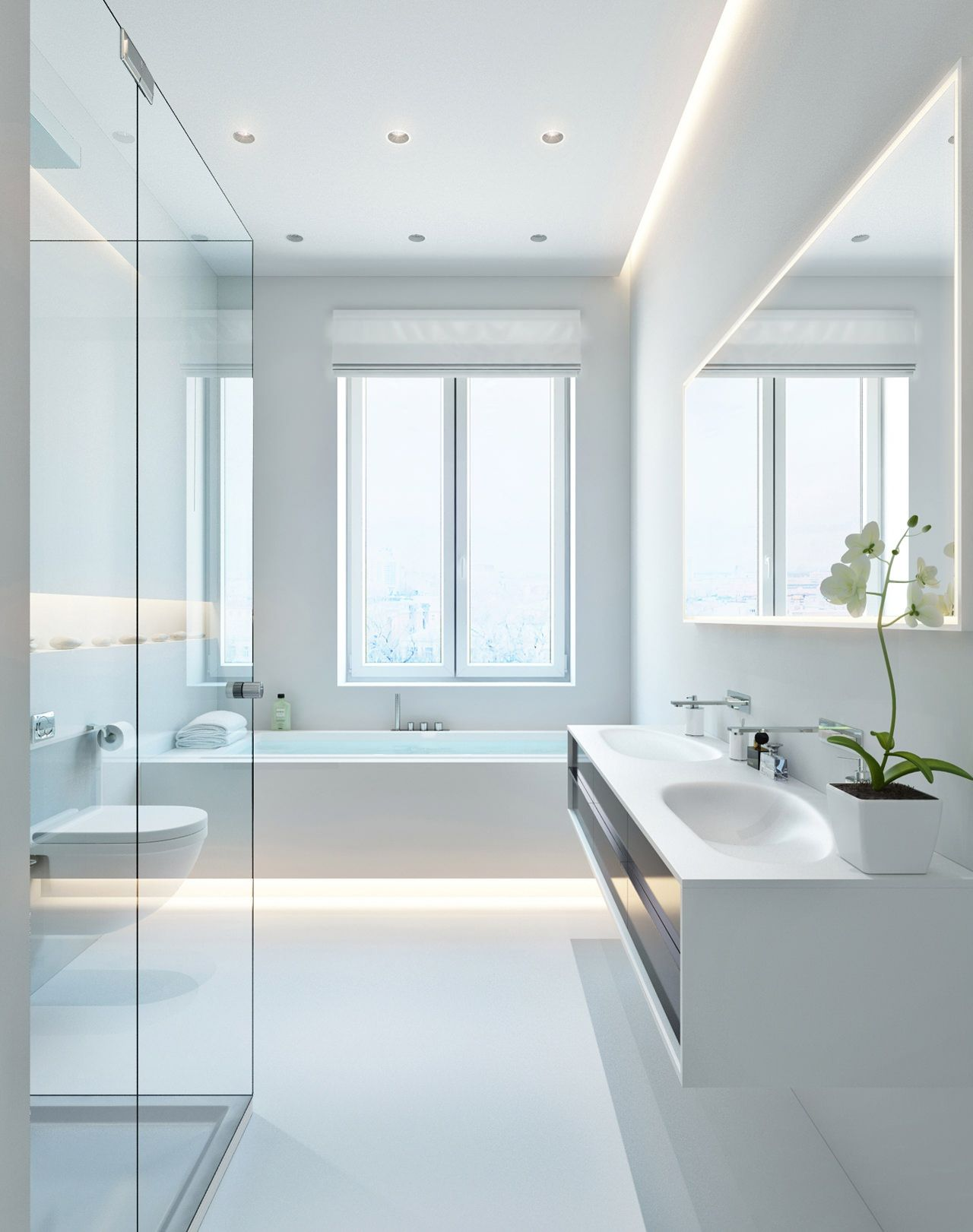 Three Apartments with Extra Special Lighting Schemes | Architecture & Design