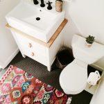 Trend Alert: Persian Rugs in the Bathroom