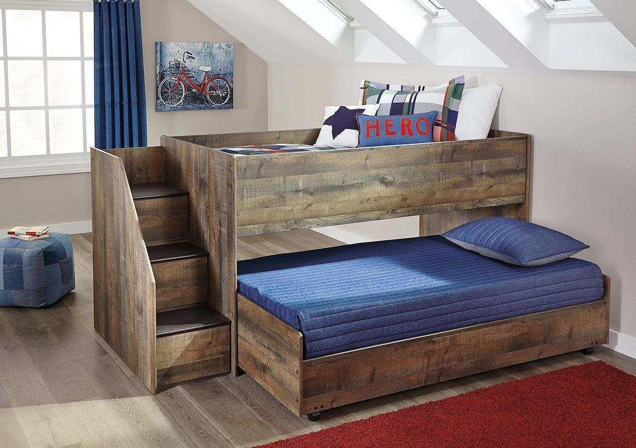 Trinell Twin over Twin Loft Bed