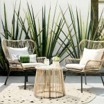 Tropical Modern Rattan Chairs — Signature Boutique Event Rentals Maui, Hawaii