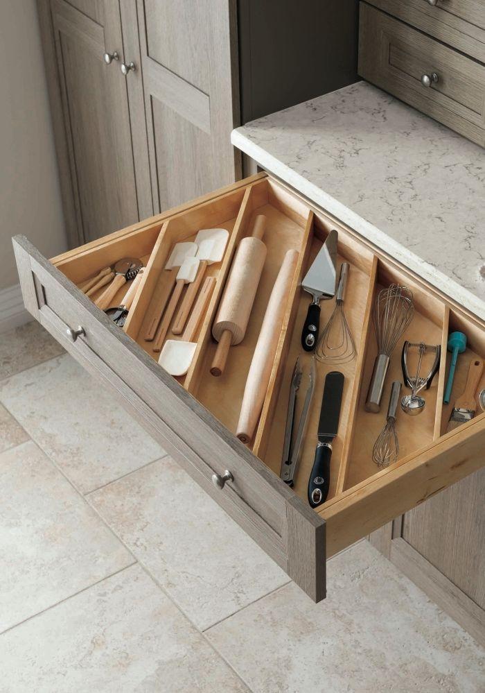 Trouvez le conseil de rangement dans la cuisine qui rangera tous les tiroirs et armoires – worldefashion.com/hem