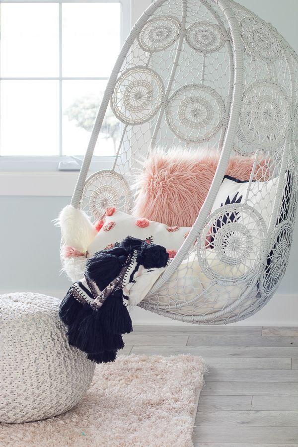 Tween Girl Beachy Boho Bedroom – The Lilypad Cottage