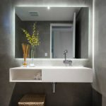 Twilight Rectangle Bathroom Mirror With LED Light Backing Backlit TG -  Twilight...