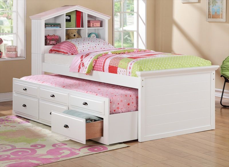 Twin Bed w/ Trundle – Shop for Affordable Home Furniture, Decor, Outdoors and more