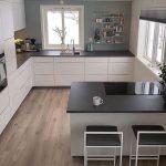 U-förmige Küche İdeas; Die effizientesten Designbeispiele Ihrer Traumküche 2… - bingefashion.com/dekor
