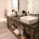 Unieke badkamerwastafels voor uw zeer speciale kamer Rustieke badkamer ...  - Wo...