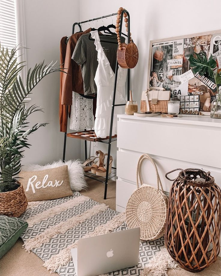 Urban boho inspired bedroom decor – House Goals Ideas