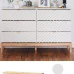 Verwandle eine bescheidene IKEA Kommode in ein wunderschönes Schlafzimmerstück - https://pickndecor.com/interior