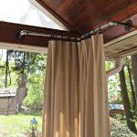 #Vorhang #Indoor #Outdoor #Vorhänge  Indoor Outdoor Vorhänge Grau Outdoor Vorh...