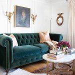 Vorher & Nachher: Ein klassischer Glamour Living Room Reveal - bingefashion.com/dekor