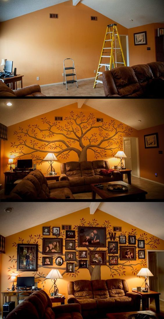 W Family Wall – www.thesmilehouse… I LOVE this! – Dekoration Trends Site