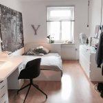 #WG #Zimmer #Schlafzimmer #Einrichtung #modern #Bett