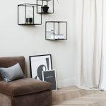 Wandregal aus Metall - Schwarz - Home All | H&M DE
