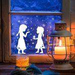 Wandtattoos - Fensterdeko Schneekönigin Prinzessin Kinder M2041 - ein Designers...