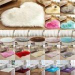 Waschbar Flauschiger Teppich Rutschfeste Hochflor Teppiche Teppich Bad Room Floor Mat Plain $...