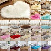 Waschbar Flauschiger Teppich Rutschfeste Hochflor Teppiche Teppich Bad Room Floor Mat Plain $…
