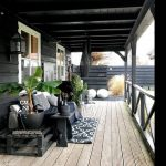 """Waschechte Nordfriesin on Instagram: """"Wir haben ja mittlerweile alle Holzteile im Garten anthrazitfarben gestrichen - die überdachte Terrasse an der Südseite ist allerdings nach…"""""""