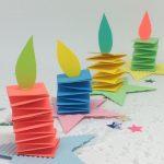 Weihnachtsbasteln mit Kindern - Adventskerzen fürs Kinderzimmer - Family und Li...