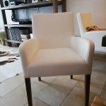Weiße Esszimmerstühle