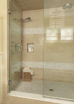 White Brick Pearl Shell Tile