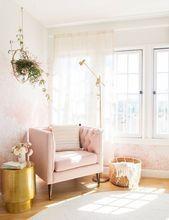 Wie man den rosa und weißen Raum schmückt – tausend Ideen, um Erfolg zu habe…