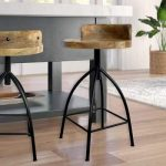 Williston Forge Molinaro Adjustable Height Bar Stool | Wayfair