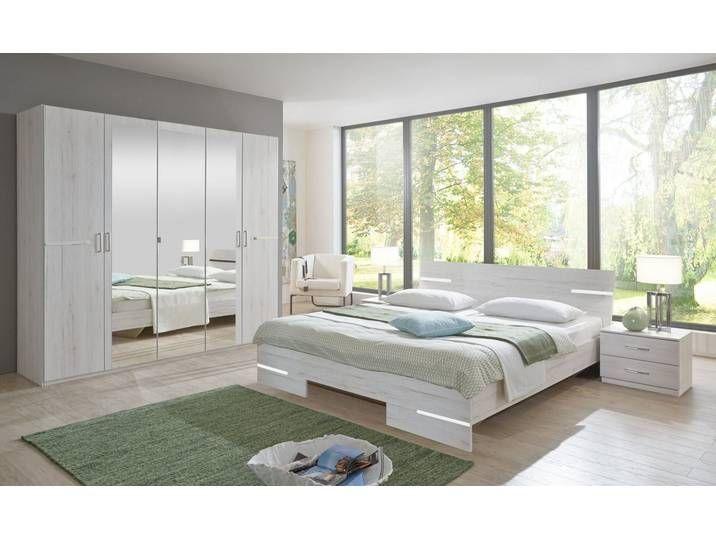 Wimex Schlafzimmer-Set »Anna«, weiß, weißeichefarben