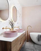 Wir sind so begeistert dieses atemberaubende Badezimmer zu sehen   #Bad #Badwasc…
