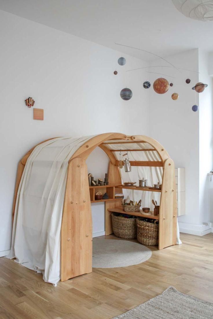 Wohnung aus Perspektive der Kinder einrichten. Oder wie Montessori Leben verändert. – bingefashion.com/dekor