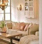 Wohnzimmer Dekor braun Couch rustikale Lichter 23 Ideen für 2019 # Designinteri...