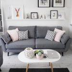Wohnzimmer Dekor graues Sofa - #Dekor #graues #livingroom #Sofa #Wohnzimmer
