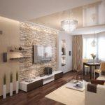 Wohnzimmer modern einrichten - Kalte oder warme Töne?