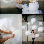 Wolken-Kinderzimmer-Baby-Raum-hängende Lichter stellen Ihre eigenen Anweisungen...
