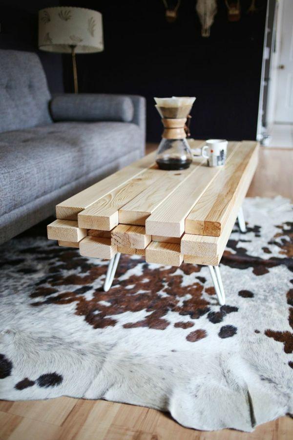 Wooden Coffee Table – Modern Coffee Tables – freshideen.com – #Coffee #coffeetab…
