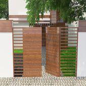 Wooden Garden Door Model 395- Ahşap Bahçe Kapısı Model 395  Wooden Garden Do…