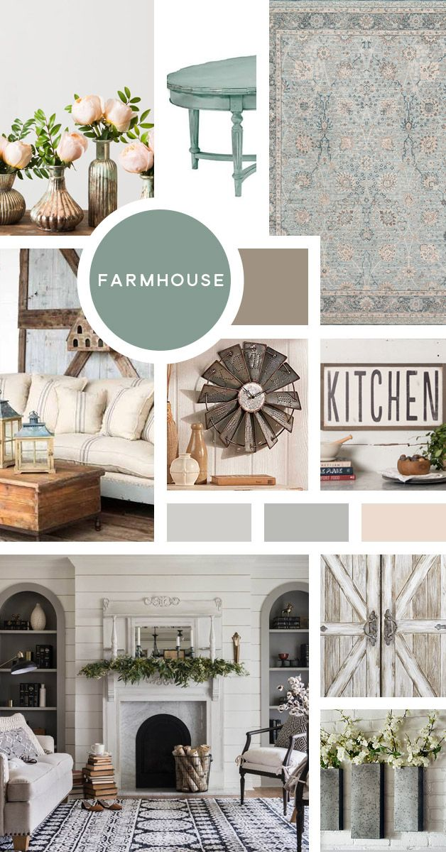 Your Ultimate Guide to Interior Design Styles: Farmhouse- Let me guess- you LOVE…