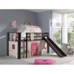 Zoomie Kids Ethridge European Single Mid Sleeper Bed with Textil Set | Wayfair.co.uk