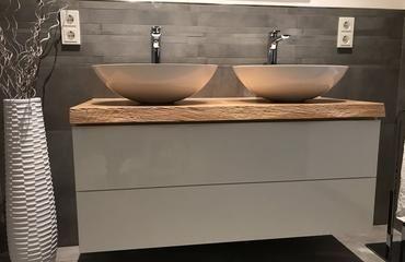 asteiche 1210x500x50 mm preis 35500 e mit baumkante ohne – Wood Design