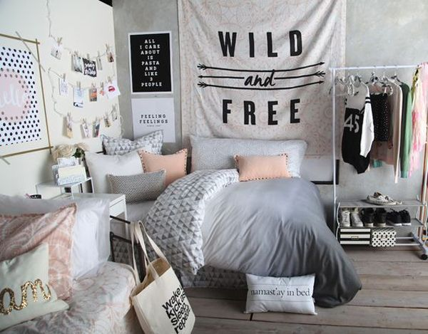 black and white bedroom ideas for teens   Posts related to Ten Black And White… – Home Decor